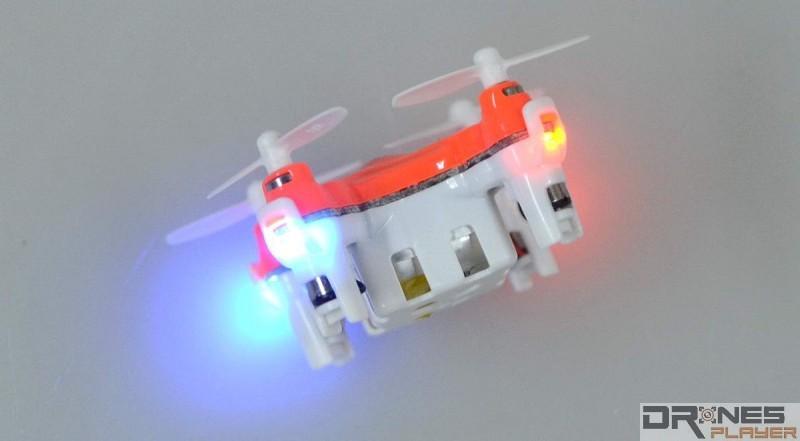 DHD D1 Drone 機體四邊均設有 LED 燈號,方便用家辨認機頭方向。