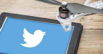 Retweet 控制航拍!Twitter 無人機自拍專利曝光