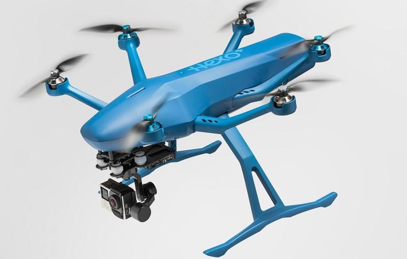 HEXO+ 無人機採用 6 軸旋翼結構,以提升飛行穩定性。