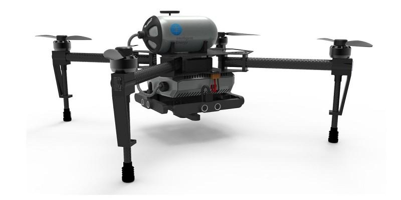 Intelligent Energy 另一款負載小型儲氣缸的氫燃料電池驅動無人機。