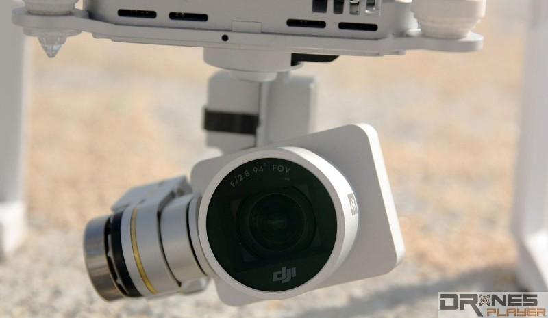 Phantom 3 Pro 支援 4K 影片拍攝,也可攝錄 1080p 全高清影片。