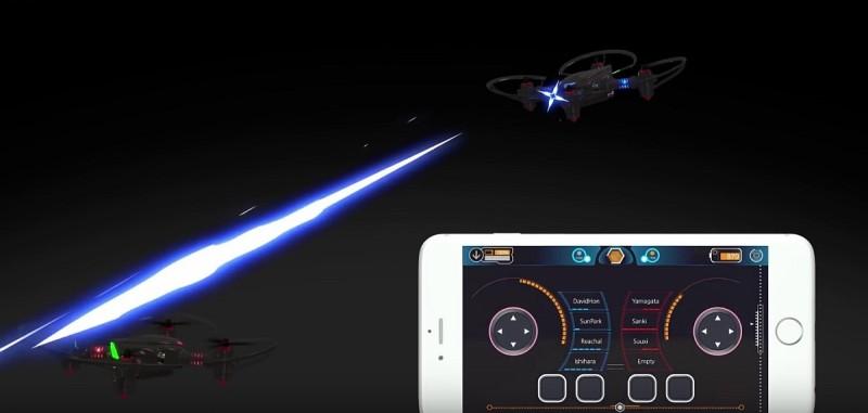 Petrone Drone 無人機對戰模擬畫面