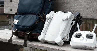 CES 2016無人機預覽: GDU Byrd 可摺疊的便攜空拍機