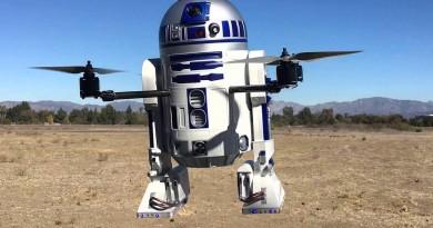 R2-D2 無人機覺醒升空!四軸飛行器霸氣外露,星戰迷必捧!