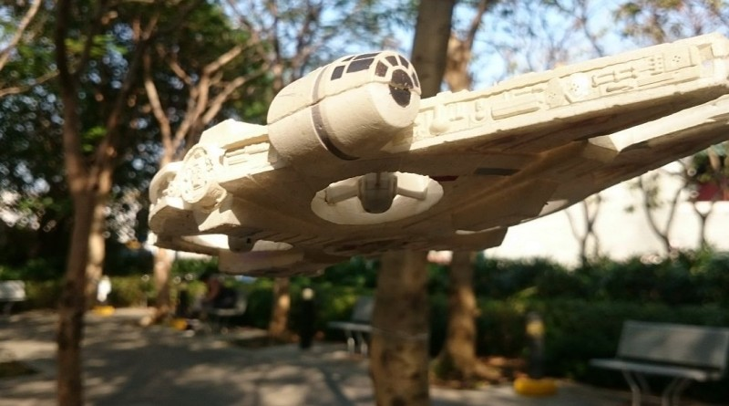 星戰千歲鷹號Air Hogs Millennium Falcon Quad