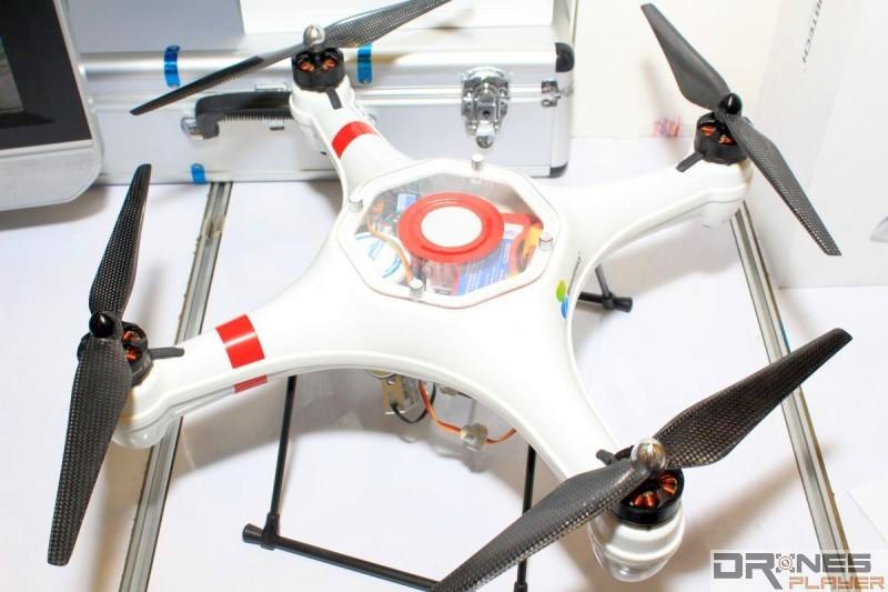 SwellPro Splash Drone 機身採用高強度 ABS 防水材質,適用各種複雜環境中飛行。