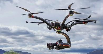 世界首部電影級無人機誕生!Shotover U1 航拍荷里活級影視製作