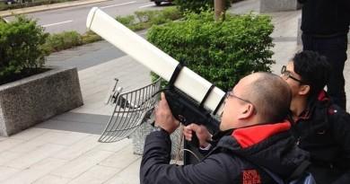 空拍台北101煙火 無人機勢遭警方電磁炮狙擊