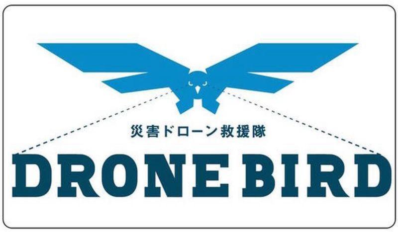 Drone Bird 航拍救援隊的標誌