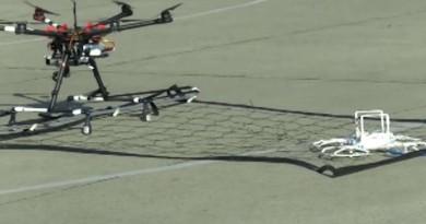 無人機垂網吊吊揈 日警空中生擒航拍機