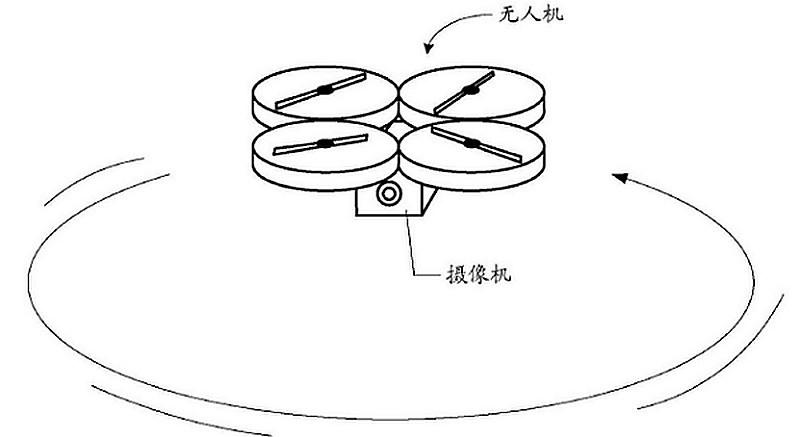 小米無人機採用四軸飛行器結構,內置航拍攝影機。