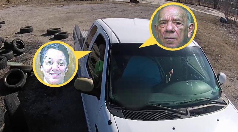 航拍片段成罪證 妓女與老嫖客雙雙被捕