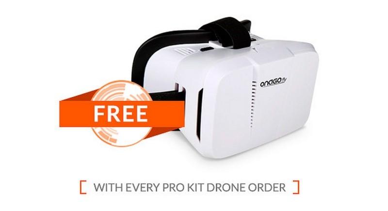凡購買ONAGOfly套裝者均可獲得 1 個 VR 眼罩。