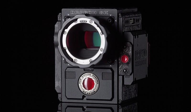 8K RED Weapon 已可攝錄 8,192 × 4,320@60fps 超高清影片。