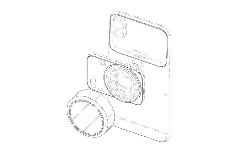 Samsung 擬將「可換鏡相機模組」的概念加到智能手機之上。