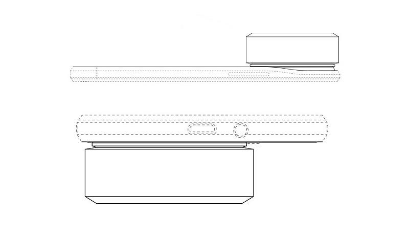 Samsung 可換鏡相機模組裝上智能手機後,機身將會大幅變厚。