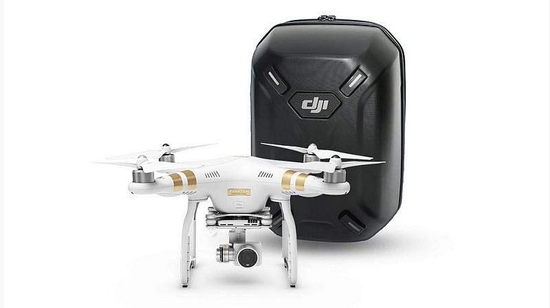 優惠期間購買 DJI Phantom 3 航拍機送 DJI 硬殼背包。