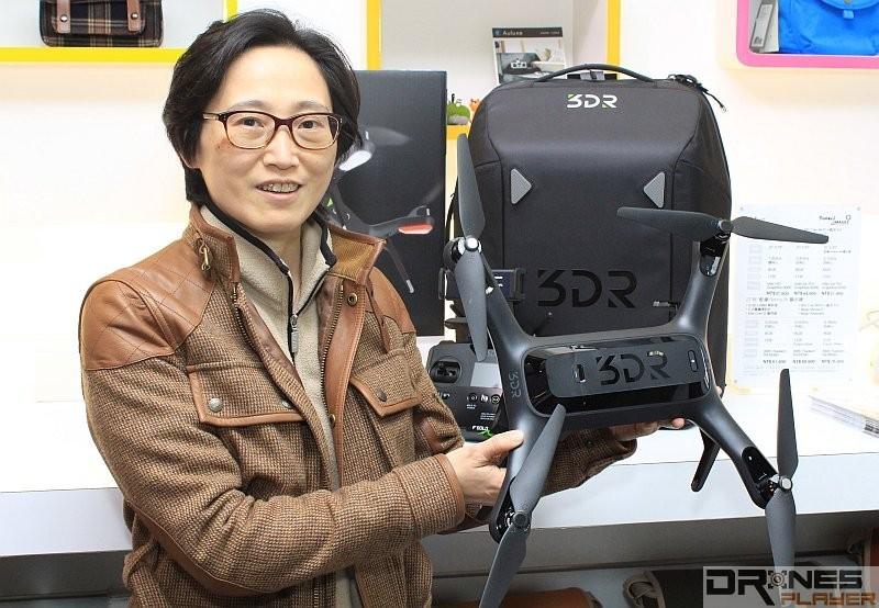 國祥副總經理林亨美表示,未來會開辦 3D Robotics Solo 的飛行教學課程。