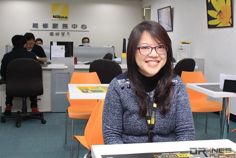 目前 3DR Solo 空拍機的維修點其實是 Nikon 的維修中心,國祥客服經理黃淑珠稱,他們的技術團隊已兼具維修空拍機與相機的能力。