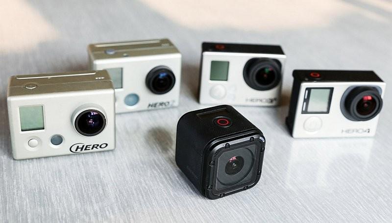HERO4 Session 銷情欠佳,拖累 GoPro 公司整體業績。