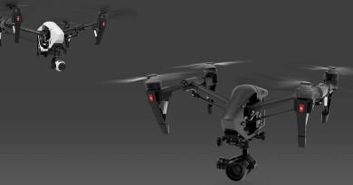 CES 2016無人機預覽: DJI Inspire 1 Pro Black 暗黑進化