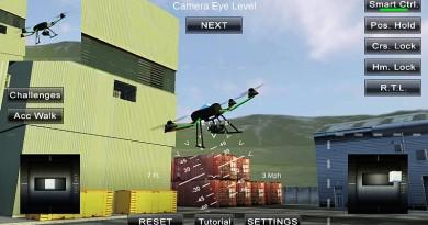 四軸機實況模擬飛行《Quadcopter FX Simulator》