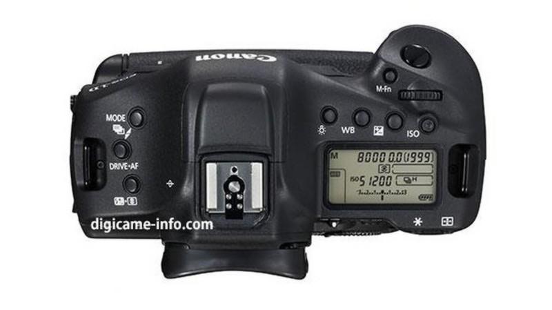 Canon 1D X Mark II 的各種按鍵排列,似乎跟上代沒有太大分別。