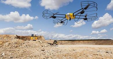 Caterpillar 夥無人機公司  合推工地•礦場空中測量解決方案