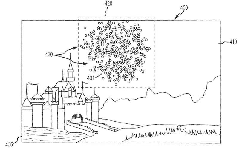 根據迪士尼的專利文件,Flixel 無人機系統利用 LED 燈取代傳統煙火。