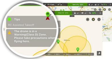 禁飛區即時更新!DJI GEO 無人機攔截系統網上公測
