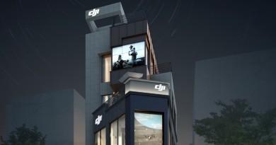 DJI 旗艦店登陸韓國首爾 打造航拍機變電子潮物
