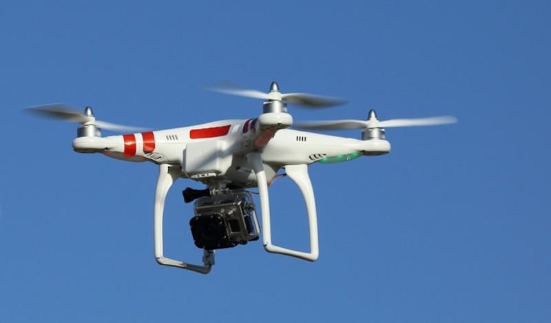 違規的無人機會被強行控制降落。