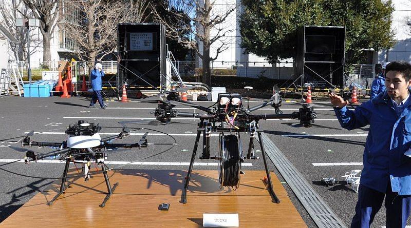 日本巨無霸無人機登場