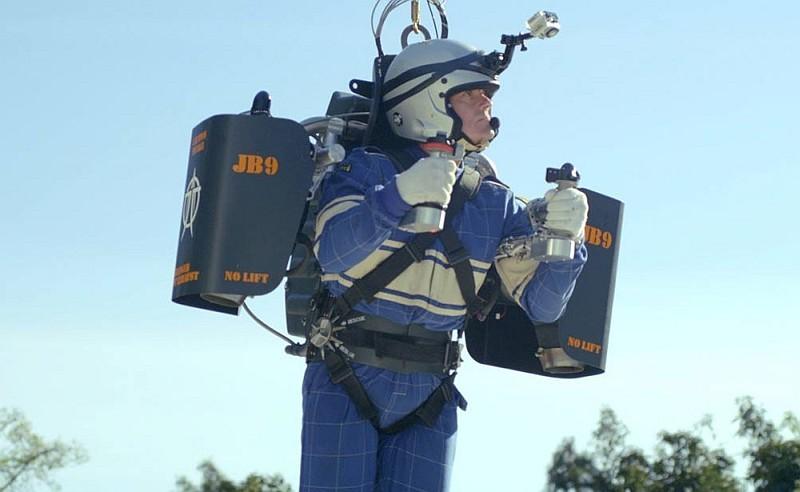 Jetpack JB-9 用上 10 年時間進行研究始能面世。