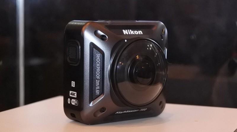 Nikon Keymission 360 運動相機支援 4K 拍片。