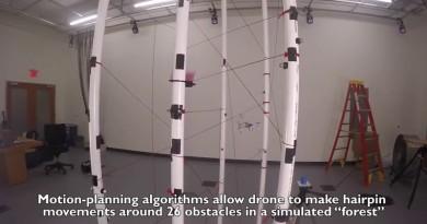 無人機識得捐窿捐罅!MIT 飛行避障系統助找空隙入躡