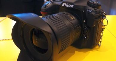 CES 2016直擊: 無人機適用的 APS-C 單反 Nikon D500