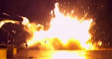 降落架結冰累事 SpaceX 火箭海上回收失敗大爆炸