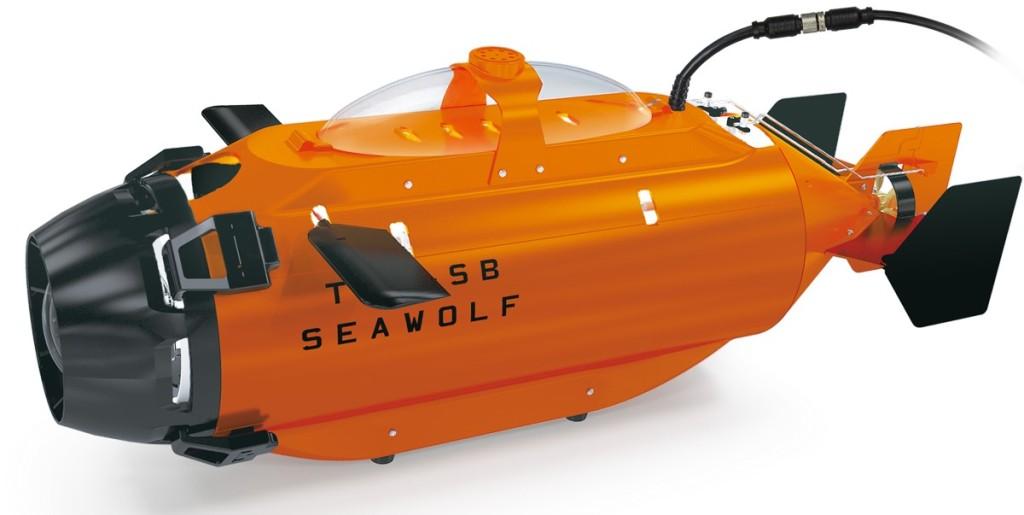 【海】Seawolf 系列:全系列共 4 款水中無人機,可進行水底攝影。