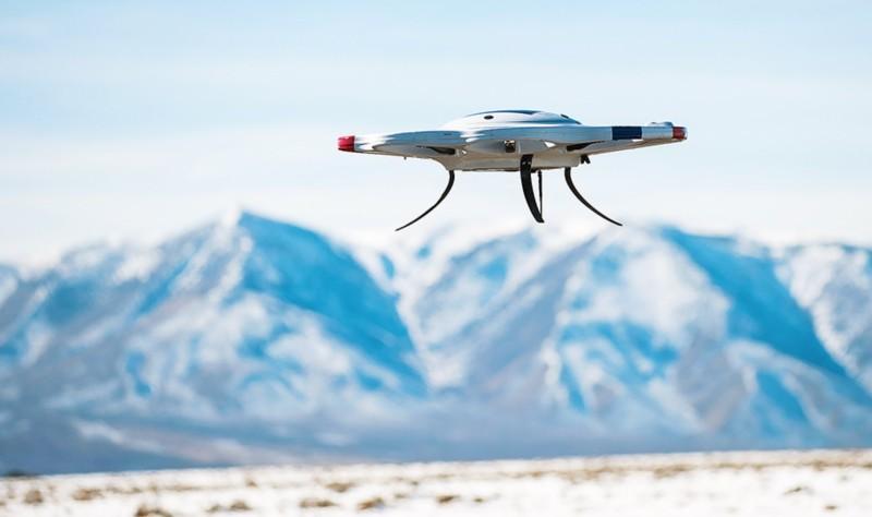 DAx8 無人機是首部成功試飛的人工增雨無人機。