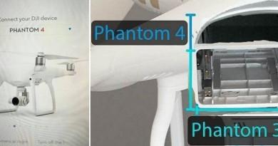 DJI Phantom 4 發布前夕最新諜照!功能規格搶先預覽