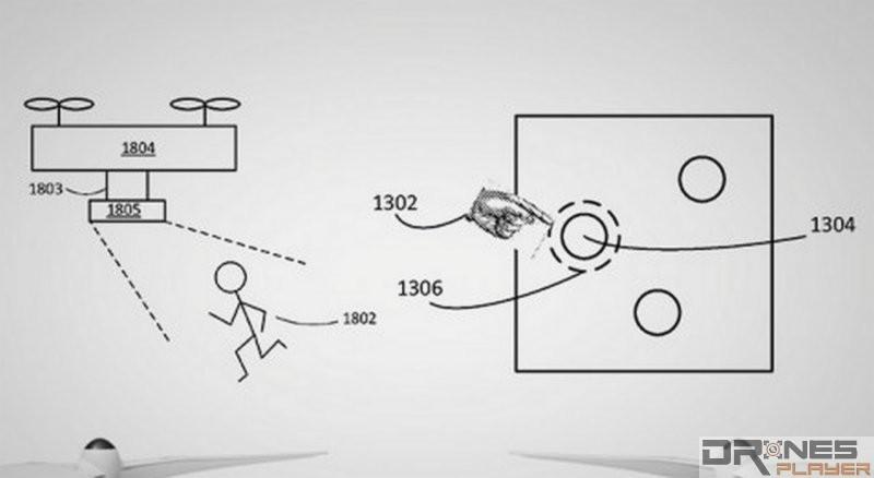 根據 DJI 專利文件內的示意圖,無人機底部應設有 3 組感應器,部分用作鎖定追蹤目標物。