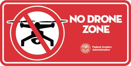 FAA將禁飛範圍打回原形。