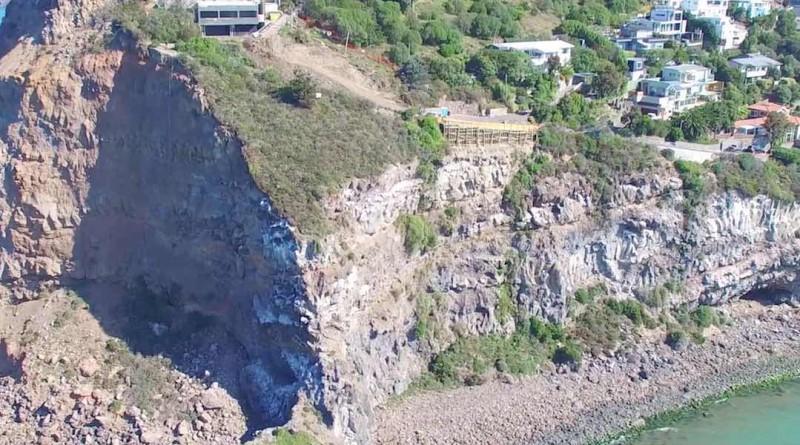 新西蘭 地震 空拍