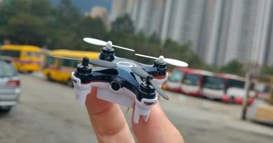 全球最小圖傳空拍機 RC Leading RC101W 畫質大考驗