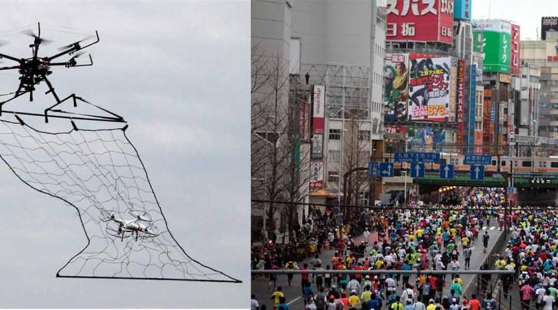 東京 無人機 馬拉松