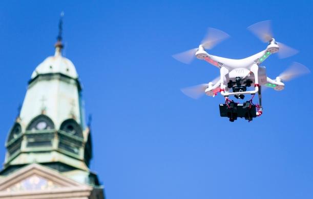 美國國會山莊一帶禁止無人機接近。