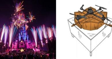 迪士尼無人機充電沒煩惱!高架基座實現空中充電