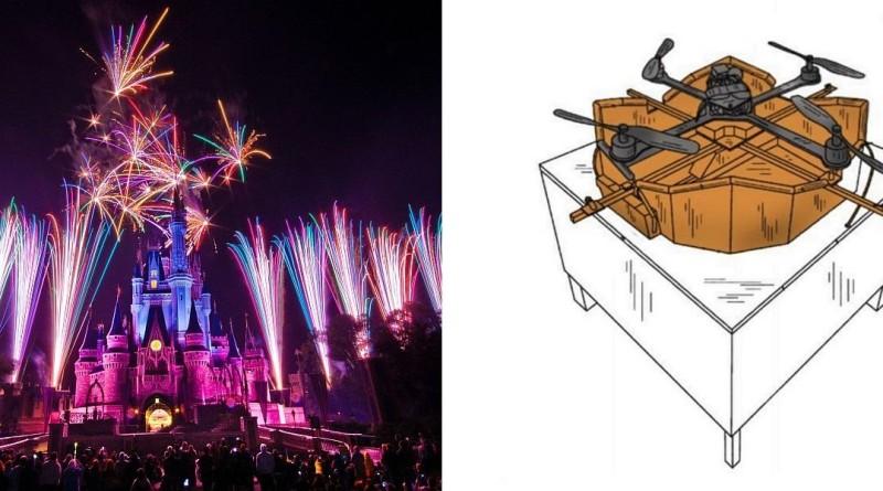 迪士尼無人機自動充電基座