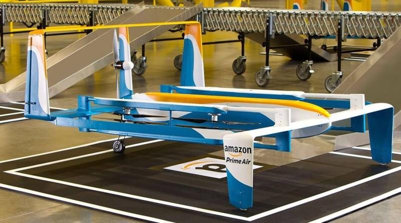 亞馬遜開設實體書店或為支援 Prime Air 無人機